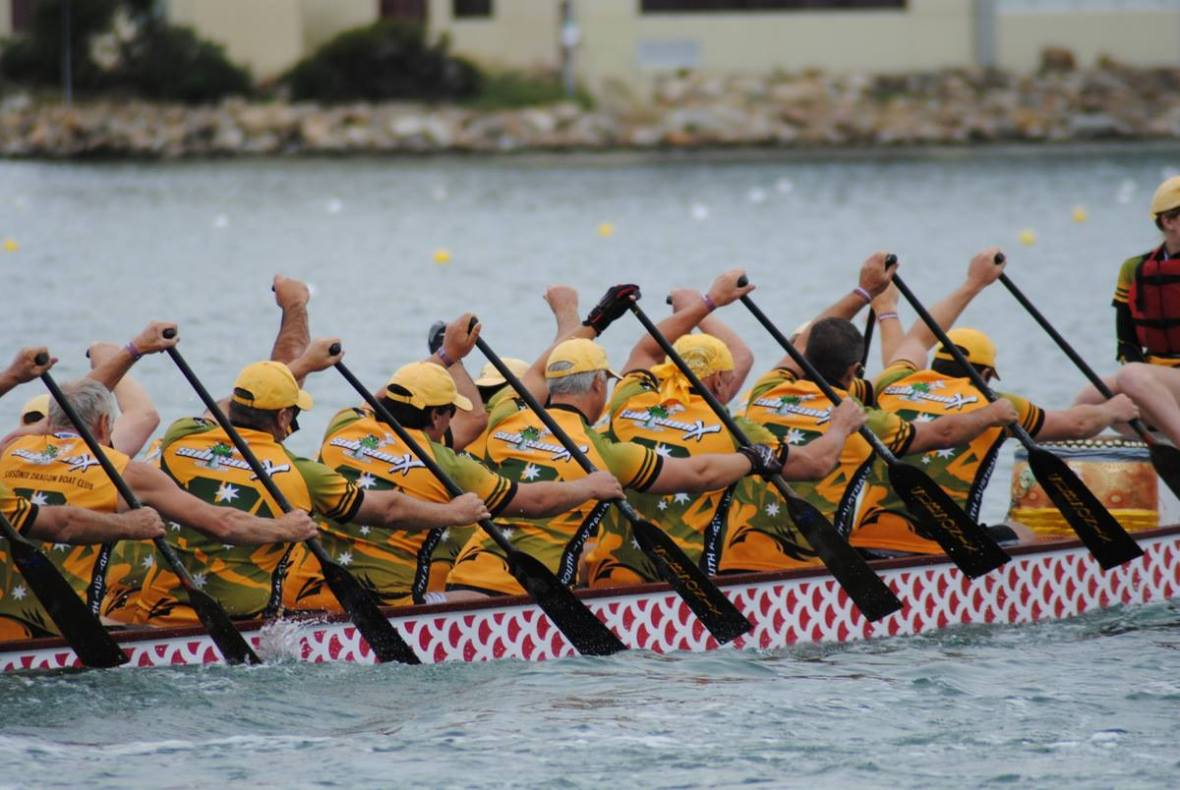 dragon boating adelaide